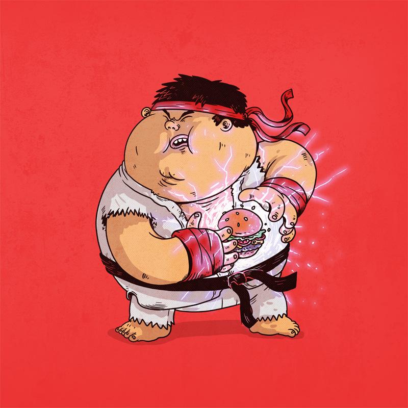 Картинки толстяки приколы